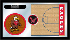 Eastern Washington University Basketball Bar Mirror | Man Cave Authority | MBsktEastWA