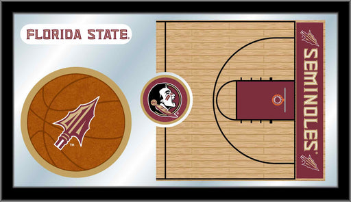 Florida State University Basketball Bar Mirror | Man Cave Authority | MBsktFlorSt