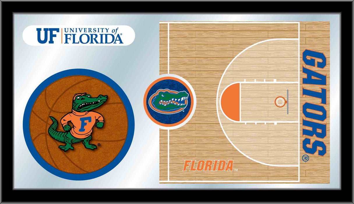 University of Florida Basketball Bar Mirror | Man Cave Authority | MBsktFlorUn