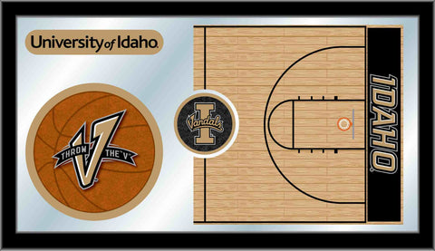 University of Idaho Basketball Bar Mirror