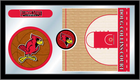 Illinois State University Basketball Bar Mirror