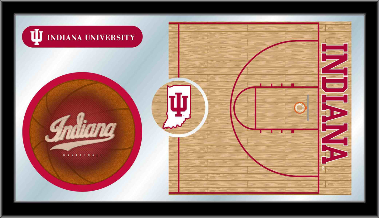 Indiana University Basketball Bar Mirror | Man Cave Authority | MBsktIndnaU