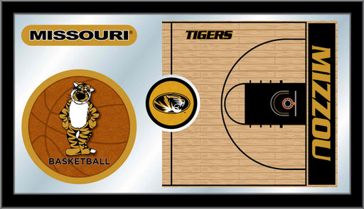 University of Missouri Basketball Bar Mirror | Man Cave Authority | MBsktMizzou