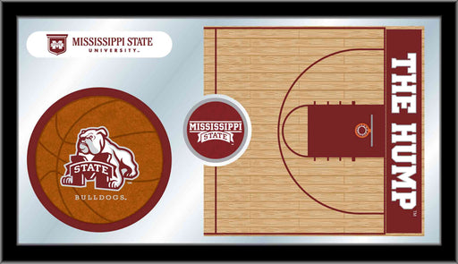 Mississippi State University Basketball Bar Mirror | Man Cave Authority | MBsktMssStU