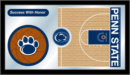 Pennsylvania State University Basketball Bar Mirror | Man Cave Authority | MBsktPennSt