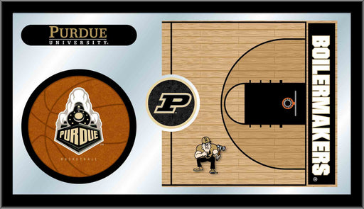 Purdue Basketball Bar Mirror | Man Cave Authority | MBsktPurdue