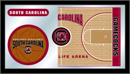 University of South Carolina Basketball Bar Mirror | Man Cave Authority | MBsktSouCar