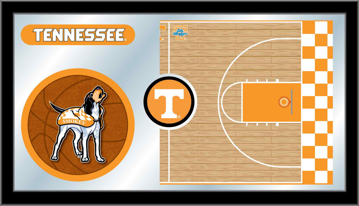 University of Tennessee Basketball Bar Mirror | Man Cave Authority | MBsktTennes