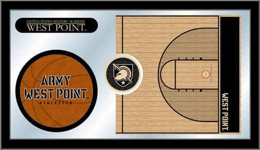 US Military Academy Basketball Bar Mirror | Man Cave Authority | MBsktUSMilA
