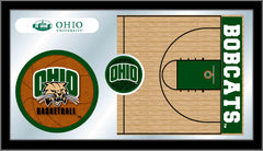 Ohio University Basketball Bar Mirror | Man Cave Authority | MBsktUnivOH