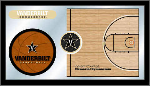 Vanderbilt University Basketball Bar Mirror