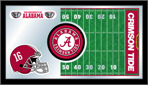 University of Alabama Football Bar Mirror | Man Cave Authority | MFtblAlbama