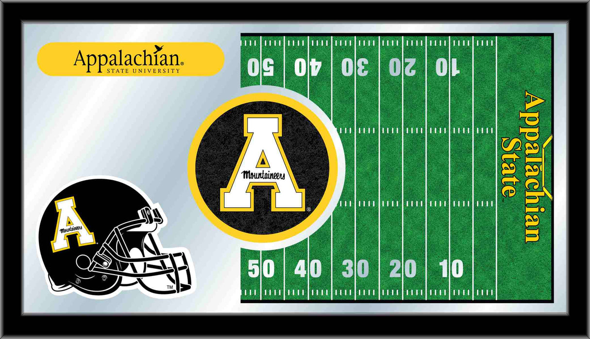 Appalachian State University Football Bar Mirror | Man Cave Authority | MFtblAppStU