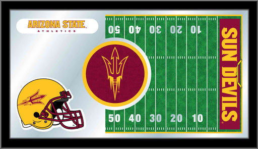 Arizona State University Football Bar Mirror | Man Cave Authority | MFtblArizSt