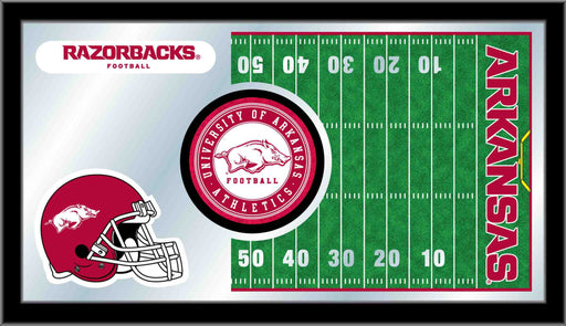University of Arkansas Football Bar Mirror | Man Cave Authority | MFtblArknUn