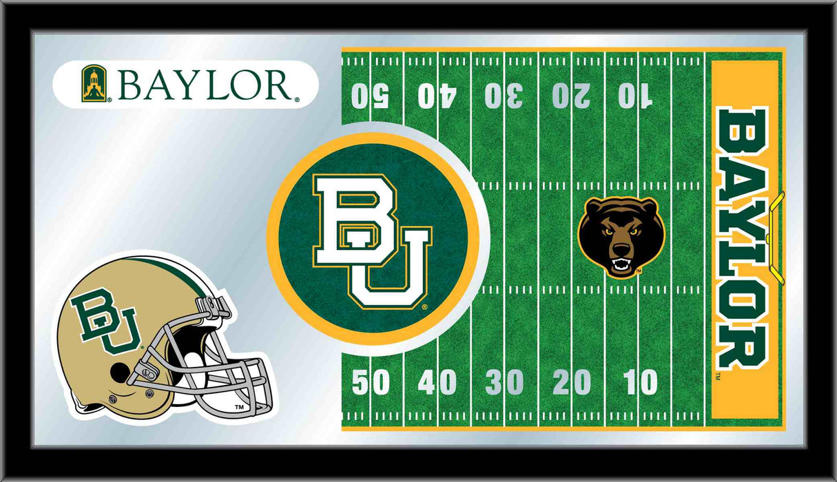Baylor University Football Bar Mirror | Man Cave Authority | MFtblBaylor