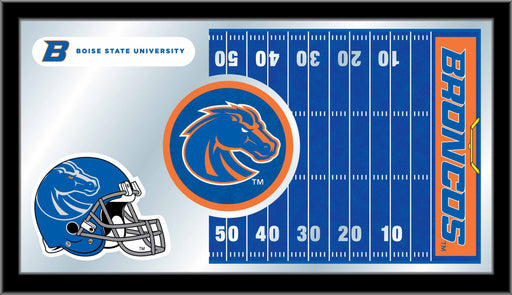 Boise State University Football Bar Mirror | Man Cave Authority | MFtblBoiseS