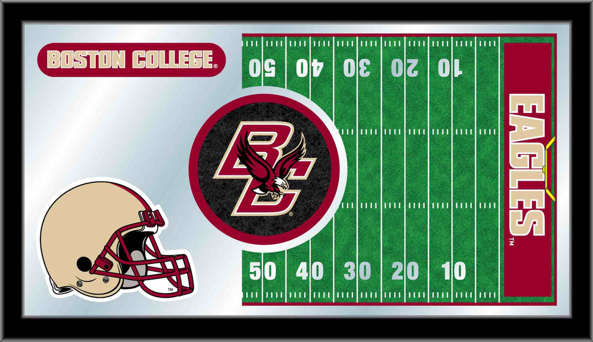Boston College Football Bar Mirror | Man Cave Authority | MFtblBostnC