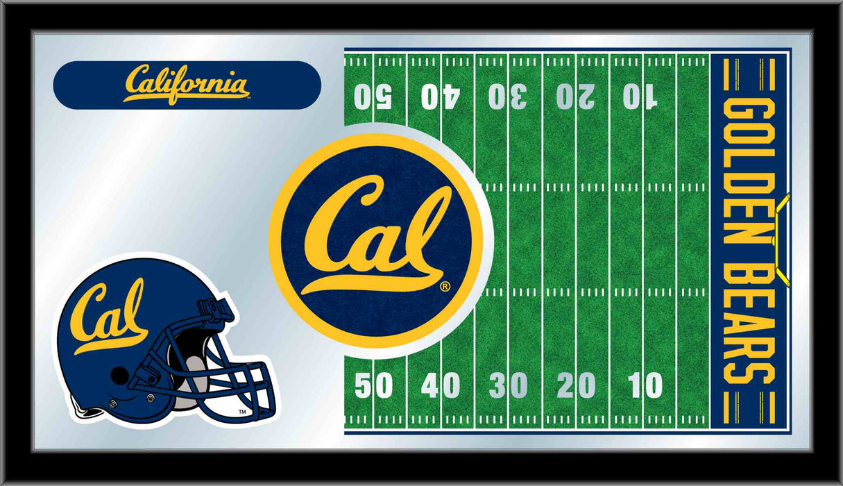 University of California (Cal) Football Bar Mirror | Man Cave Authority | MFtblCal-Un