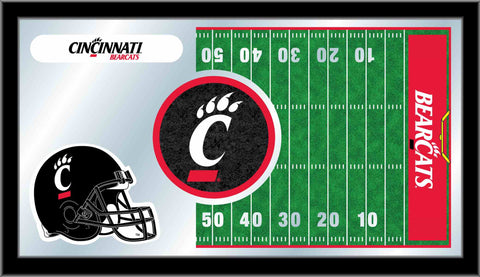 University of Cincinnati Football Bar Mirror