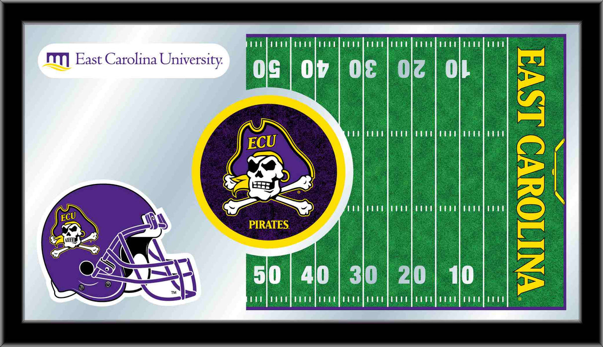 East Carolina University Football Bar Mirror