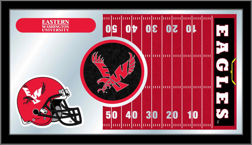 Eastern Washington University Football Bar Mirror | Man Cave Authority | MFtblEastWA