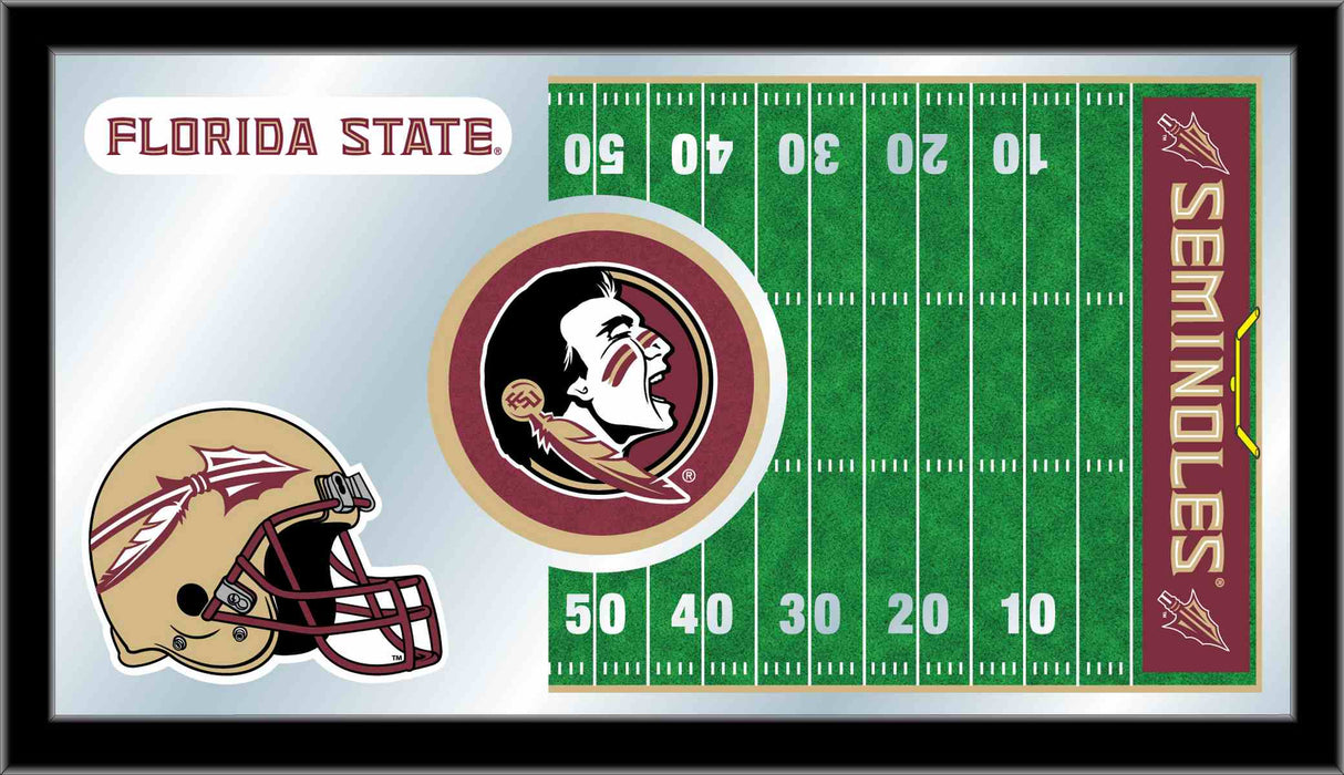 Florida State University Football Bar Mirror | Man Cave Authority | MFtblFlorSt