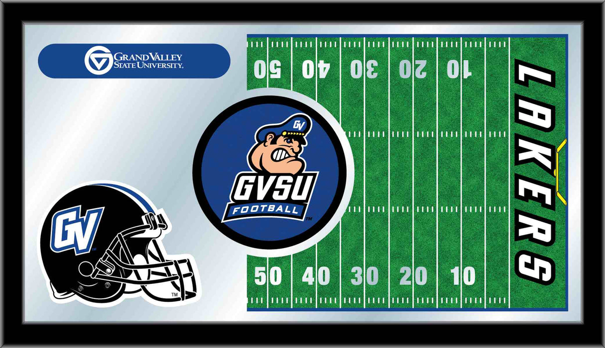 Grand Valley State University Football Bar Mirror | Man Cave Authority | MFtblGVStUn