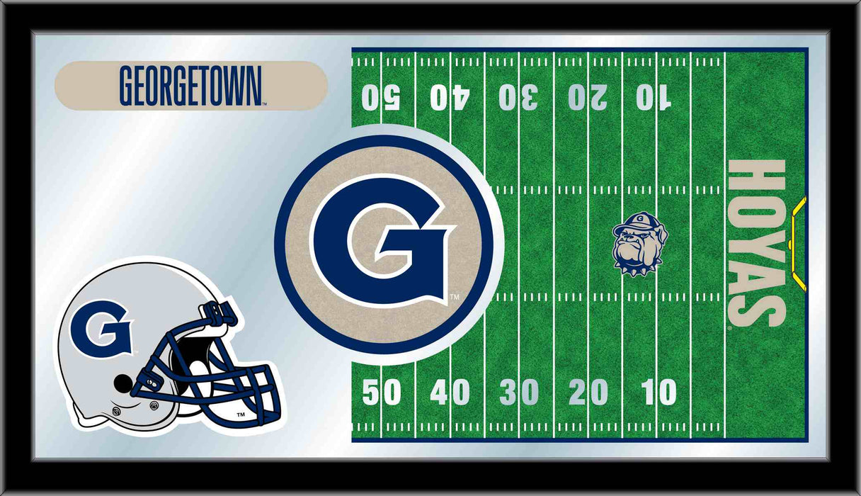 Georgetown University Football Bar Mirror | Man Cave Authority | MFtblGrgtwn