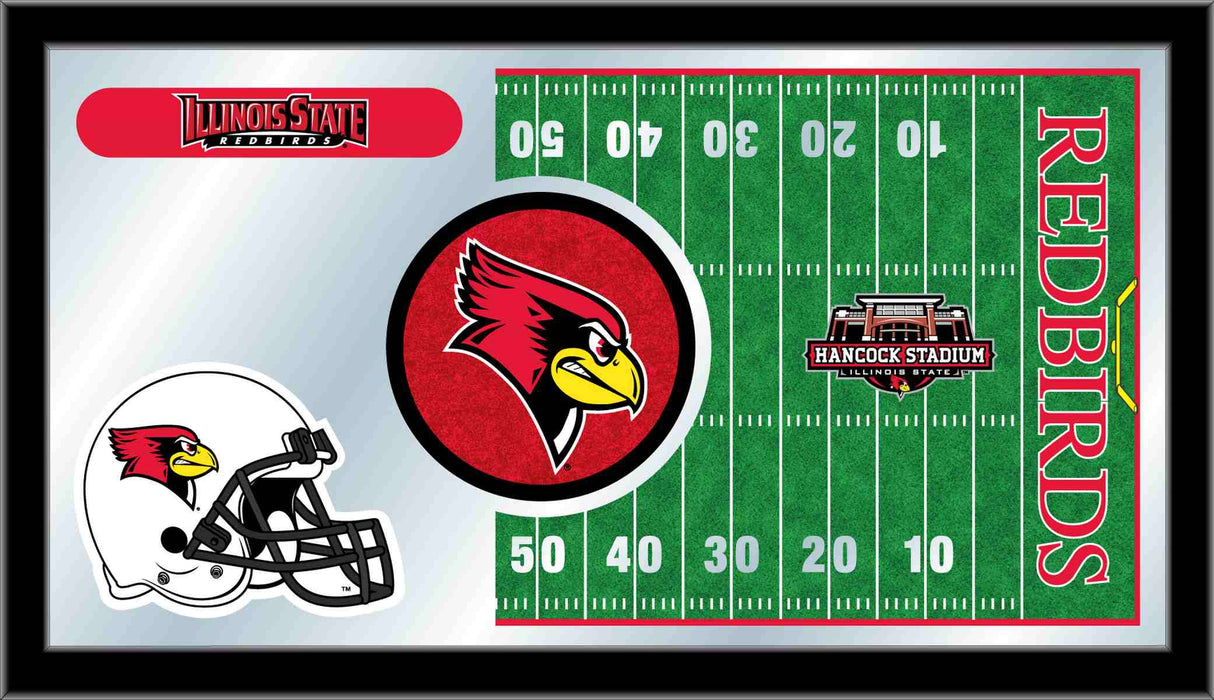 Illinois State University Football Bar Mirror | Man Cave Authority | MFtblIllStU
