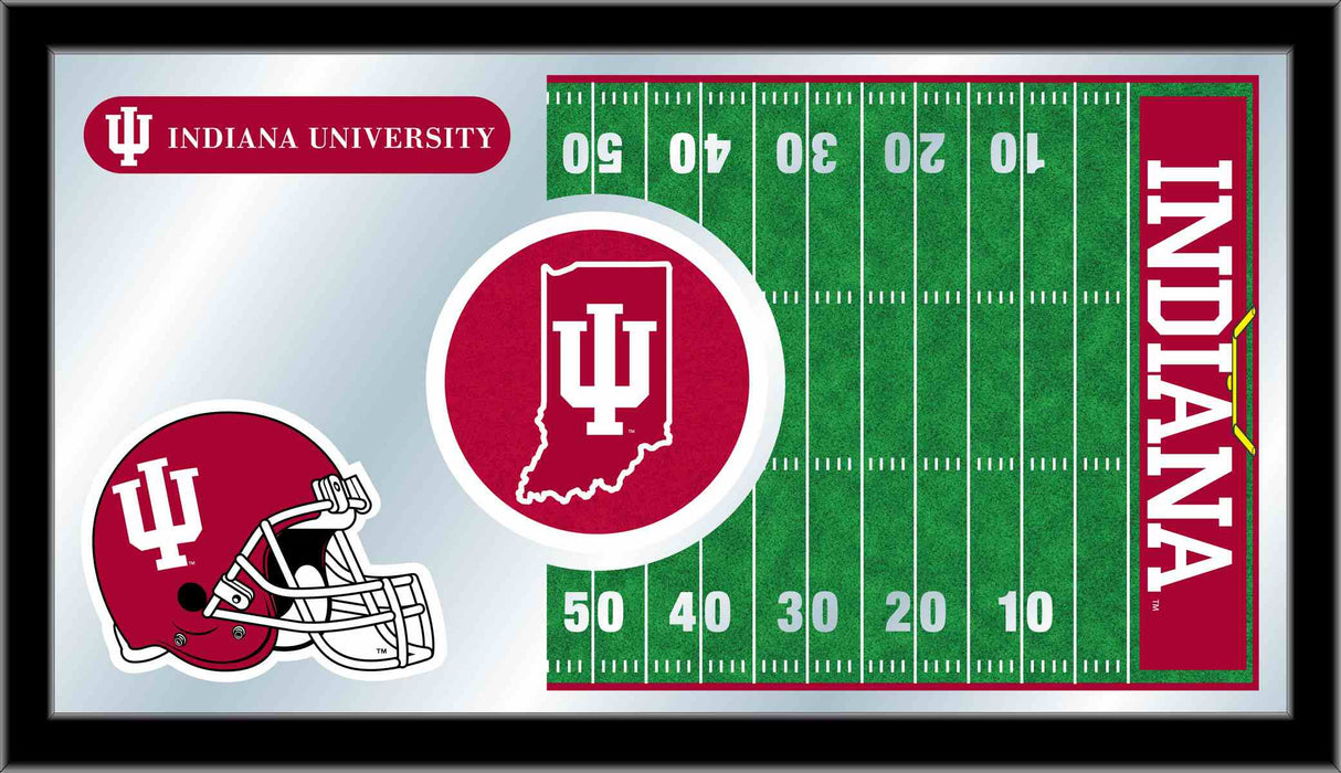 Indiana University Football Bar Mirror | Man Cave Authority | MFtblIndnaU