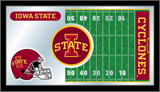 Iowa State University Football Bar Mirror | Man Cave Authority | MFtblIowaSt