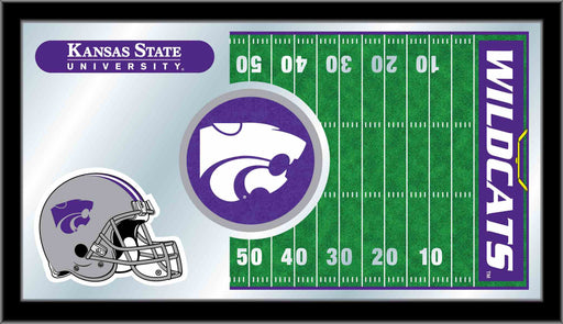 Kansas State University Football Bar Mirror | Man Cave Authority | MFtblKnsasS