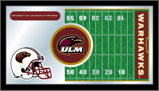 University of Louisiana at Monroe Football Bar Mirror | Man Cave Authority | MFtblLA-Mon