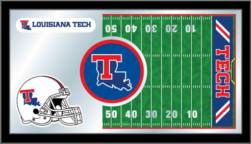 Louisiana Tech University Football Bar Mirror | Man Cave Authority | MFtblLaTech