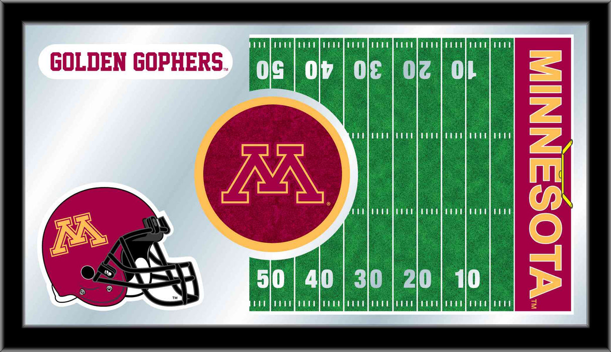 University of Minnesota Football Bar Mirror | Man Cave Authority | MFtblMinnUn