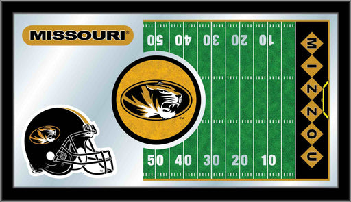 University of Missouri Football Bar Mirror | Man Cave Authority | MFtblMizzou