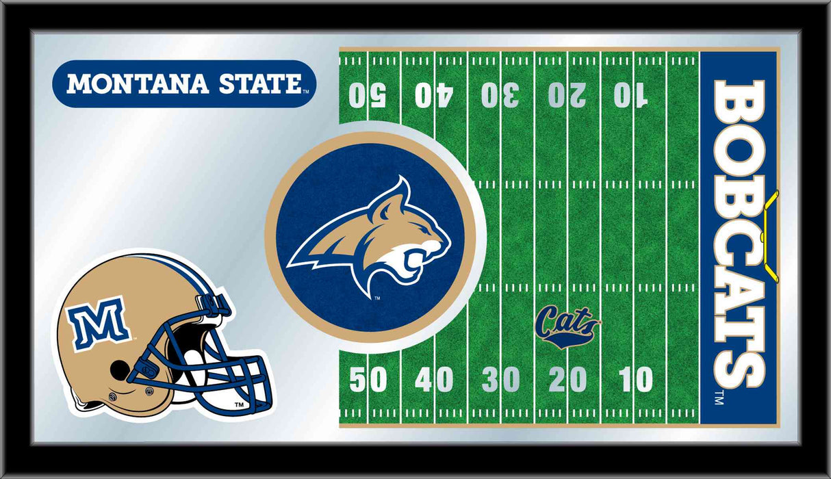 Montana State University Football Bar Mirror | Man Cave Authority | MFtblMontSt