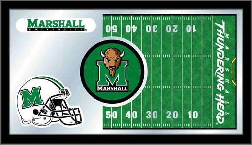 Marshall University Football Bar Mirror | Man Cave Authority | MFtblMrshll
