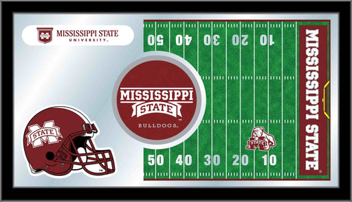 Mississippi State University Football Bar Mirror | Man Cave Authority | MFtblMssStU