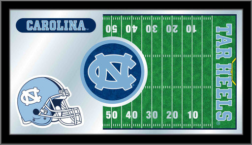 University of North Carolina Football Bar Mirror | Man Cave Authority | MFtblNorCar