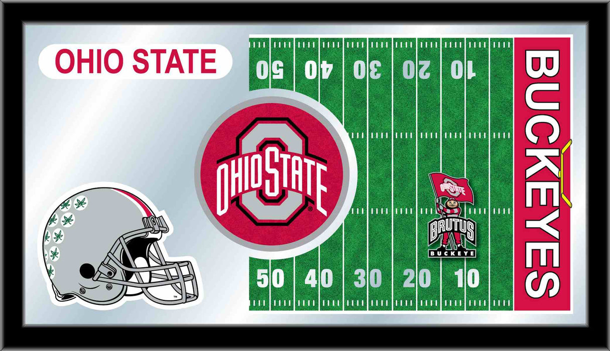 Ohio State University Football Bar Mirror | Man Cave Authority | MFtblOhioSt
