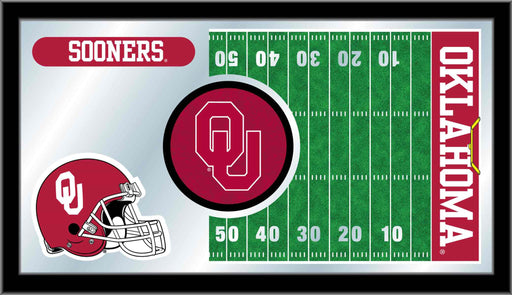 Oklahoma University Football Bar Mirror | Man Cave Authority | MFtblOklhma