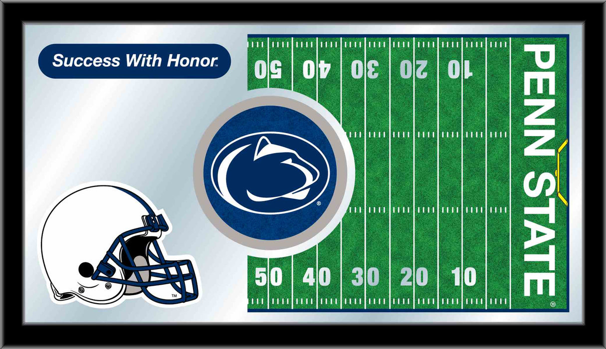Pennsylvania State University Football Bar Mirror | Man Cave Authority | MFtblPennSt