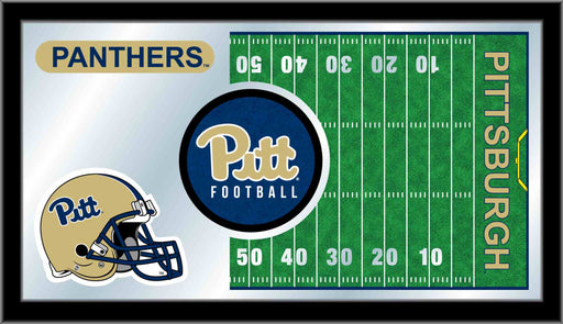 University of Pittsburgh Football Bar Mirror | Man Cave Authority | MFtblPittsb