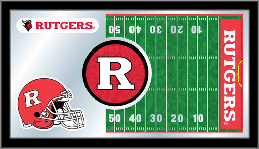 Rutgers Football Bar Mirror | Man Cave Authority | MFtblRutger