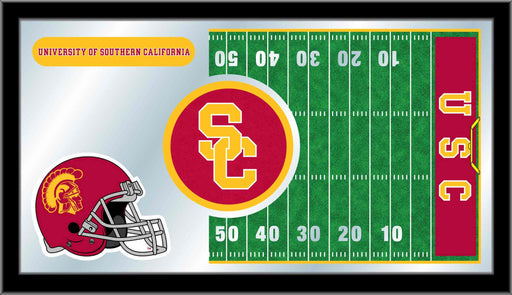 University of Southern California Football Bar Mirror | Man Cave Authority | MFtblSouCal