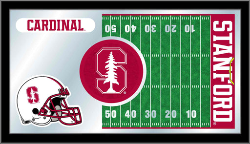 Stanford University Football Bar Mirror | Man Cave Authority | MFtblStnfrd