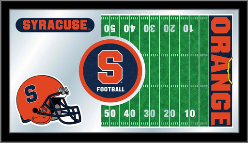 Syracuse University Football Bar Mirror | Man Cave Authority | MFtblSyrcse
