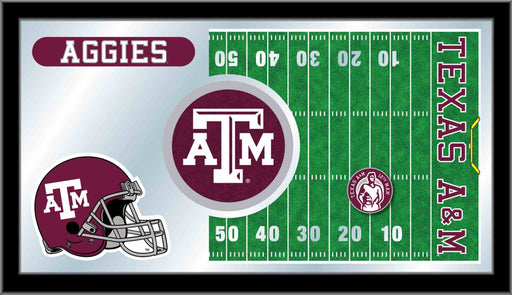 Texas A&M University Football Bar Mirror | Man Cave Authority | MFtblTexA-M